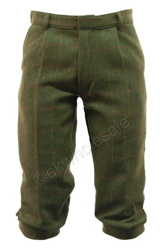 6D Mens Dark Derby Tweed Plus Fours Breeches Breeks Trousers