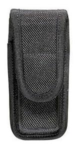 Bianchi Accumold 7303 Black Single Magazine Pouch (Size 0 .380 Auto Hidden Snap)