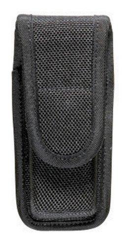 Bianchi Accumold 7303 Black Single Magazine Pouch Size 0 380 Auto Hidden SnapB0000YA6ZU