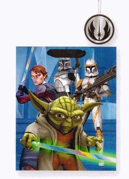 Star Wars Yoda and Force Medium Gift Bag (Single)