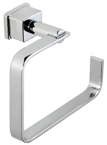 Belle Foret BRTR400CP Towel Ring, Chrome