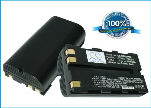 Battery for Leica ATX1200, GPS1200, GRX1200, Piper 100, Piper 200, RX1200, TC1200, TPS1200, RX900, RX1200, ATX900, ATX1230, SR20, GS20, TPS1200, GPS1200, GPS1200, GPS900, GRX1200, Piper 100, Piper 200