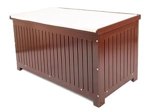 auflagenbox mit sitzkissen gartenbox gartentruhe kissenbox gartenm bel garten. Black Bedroom Furniture Sets. Home Design Ideas