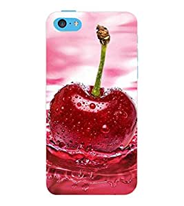 ColourCraft Quote Design Back Case Cover for APPLE IPHONE 5C