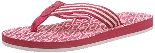 Tommy HilfigerM1285ONICA 34D - Scarpe da Spiaggia e Piscina Donna , Rosa (Pink (PINK SPICE 660)), 39 EU