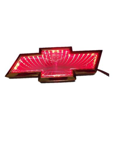 Nadotuning Car 3D Led Logo Lights Emblem Badge Sticker Lamp For Chevrolet Cruze Red New