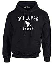 iClobber Staffy Dog Lover Hoodie Staffordshire Bull Terrier Hoodie in kids and adult sizes