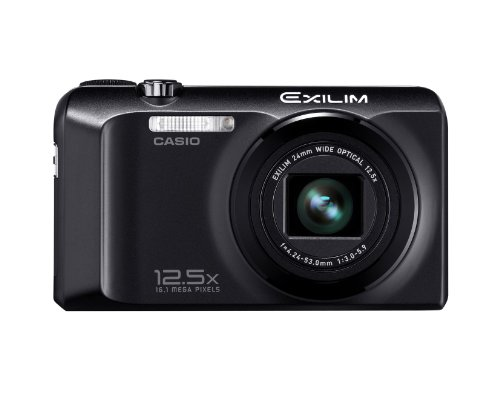 Casio Exilim EX-H30 Digital Camera - Black (16.1MP, 12.5x Optical Zoom) 3 inch LCD