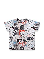 Star Wars Camiseta Manga Corta Pattern (Blanco)