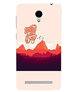 PrintVisa Quotes & Messages 3D Hard Polycarbonate Designer Back Case Cover for Vivo Y28
