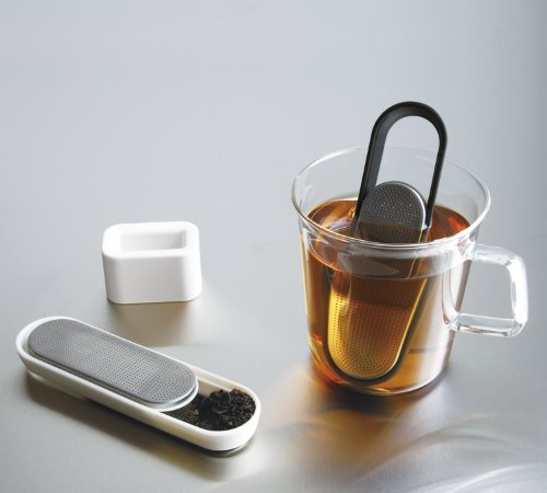 Black Loop Tea Strainer