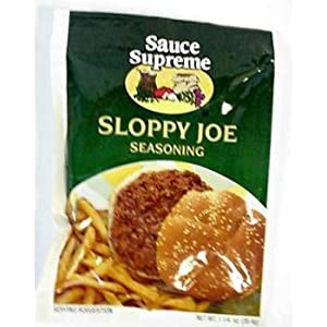 Spice Supreme - Sloppy Joe Seasoning Case Pack 48 - 395206