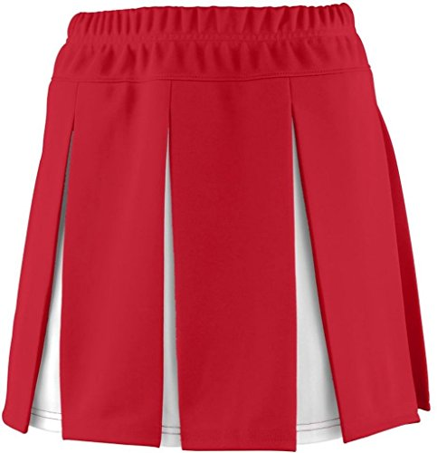 Augusta Sportswear 9115 Women'S Liberty Skirt Red/White Large front-946917