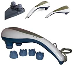 Royale Body Massager (White & Blue)