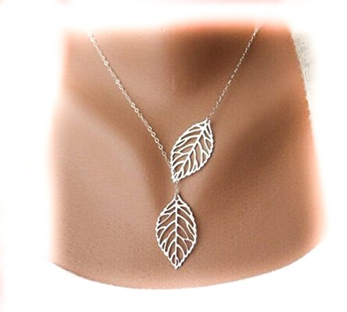 buy-any-2-get-1-free-unique-fashion-jewellery-silver-double-leaf-pendant-tree-bird-branch-plant-natu