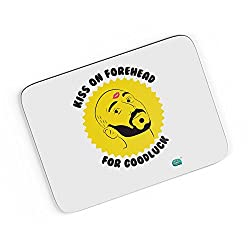 PosterGuy A4 Mouse Pad - Kiss On Forehead For Good Luck | Designed by: Being Indian