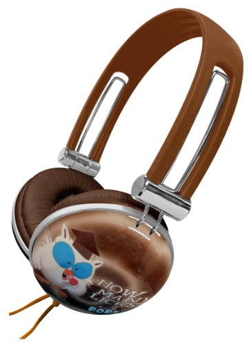 Dgl Dgl-820-Tp Tootsie Roll Pop Candy Comfort Plus Novelty Noise-Reducing Stereo Over Ear Aviator Headphones - Retail Packaging
