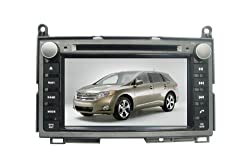 See 7 Inch 2 Din Car DVD Player for TOYOTA Venza(2008-2013),DVD+Analog TV+BT+Game+GPS+PIP+Rear Review+IPOD+Touch screen Function Details