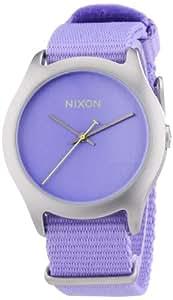 Nixon Damen-Armbanduhr Analog Quarz Textil A3481366-00