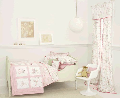 Pink Pagoda Twin Quilt front-286520
