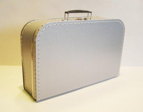 Valise pour entfants, gris, 35cm, carton