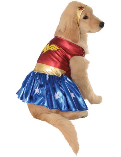 Extra Large - Cat & Dog Costume Wonder Woman Xl