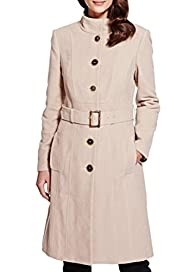 Pure Cotton Belted Coat [T62-0902J-S]