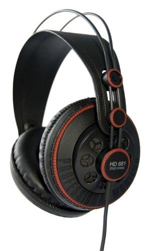 Superlux セミ・オープン型プロフェッショナルモニターヘッドフォン HD681