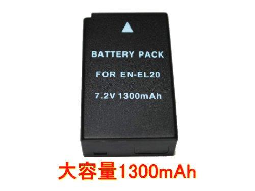 Nikon EN-EL20 互換バッテリー Nikon 1 J1/J2/J3/S1