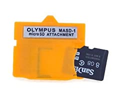 NEON Olympus MASD-1 xD Picture Card card adapter for microSD / microSDHC