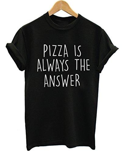 waterman-falls-uk-damen-t-shirt-mehrfarbig-mehrfarbig-gr-m-mehrfarbig-pizza-is-always-the-answer-bla