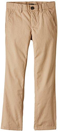 Tommy Hilfiger - MERCER CHINO BTO, Pantaloni per bambini e ragazzi, beige (beige  (batique khaki 052)), 7 anni (122 cm)