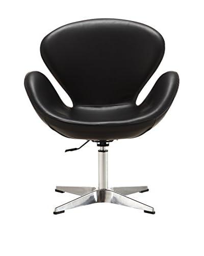 Ceets Raspberry Adjustable Leisure Chair, Black