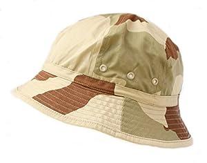 Chapeau / Bob Armee Francaise Camouflage Camo Desert 3 Couleurs Surplus Militaire Fr0211-62 Airsoft