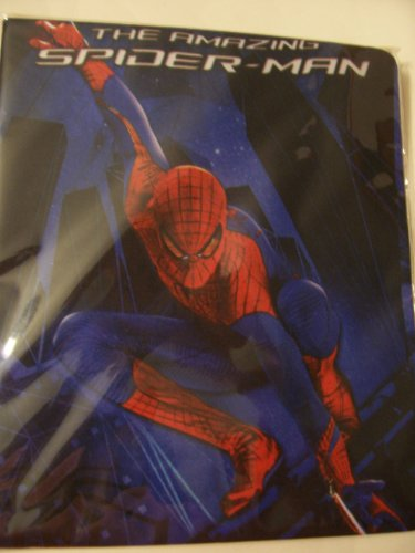 "The Amazing Spiderman Stretchable Fabric Book Cover ~ Spidey (Fits Books Larger than 10"" x 8"") - 1"