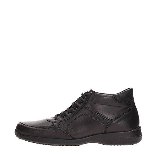 Braking 5827 Sneakers Uomo Pelle NERO NERO 40
