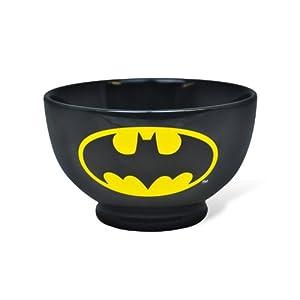 DC Comic - Retro Batman Müslischüssel Frühstücksschüssel (Batman Comic Print)