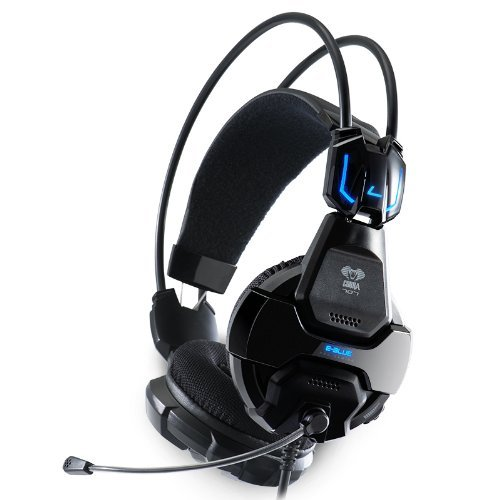 E-3Lue E-Blue Cobra 707 Gaming Headset Headphone Earphone With Microphone Mic