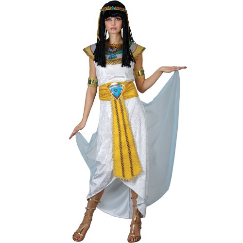 ADULT PRINCESS CLEOPATRA ALL SIZES FANCY DRESS EGYPT COSTUME