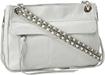 Rebecca Minkoff Swing Shoulder Handbag,White,One Size