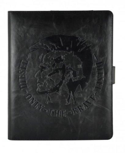 Diesel X00849 - Custodia di pelle per iPad 1, colore: Nero