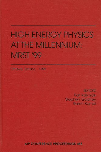High Energy Physics at the Millennium: MRST 99: Ottawa, Ontario, Canada, May 10-12, 1999 (AIP Conference Proceedings / High Energy Physics)