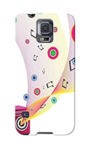 KnapCase Abstract Music Designer 3D Printed Case Cover For Samsung Galaxy S5