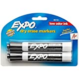 Expo 2 Low-Odor Dry Erase Markers, Chisel Tip, Assorted Colors (80678) (4-Pack of 8)