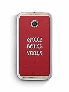 YuBingo Chaar Bottle Vodka Designer Mobile Case Back Cover for Motorola E2