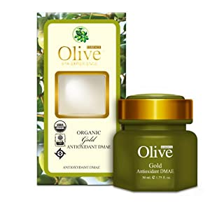 Click to buy DMAE Products: Organic Olive Antioxidant Dmae Treatment from Amazon!