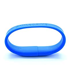 Smiledrive 32GB SUPERFAST USB 3.0 WRISTBAND PEN DRIVE-WEARABLE PENDRVIE (BLUE)