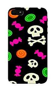 CimaCase Skull And Candies Designer 3D Printed Case Cover For Apple iPhone 5S