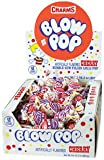 Charms Blow Pops Cherry Lollipops - 48 Lollipops/Box