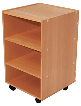 "3B Scientific W15141 Wood Multi-Purpose Treatment Cabinet with Shelves, 17-51/64"" Length x 17-19/32"" Width x 28-19/64"" Height"
